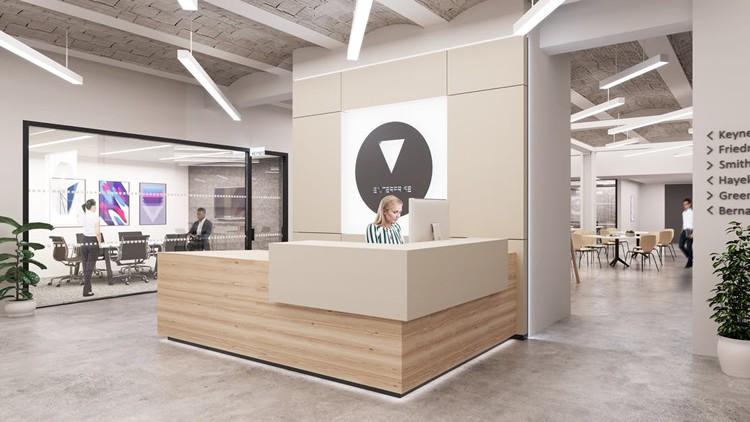 rent coworking office 195 broadway