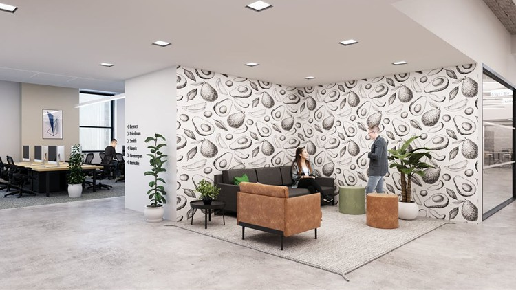 lease coworking office 195 broadway