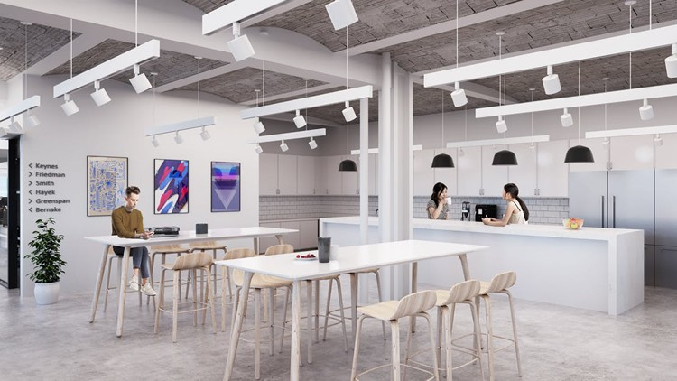 renting coworking office 195 broadway