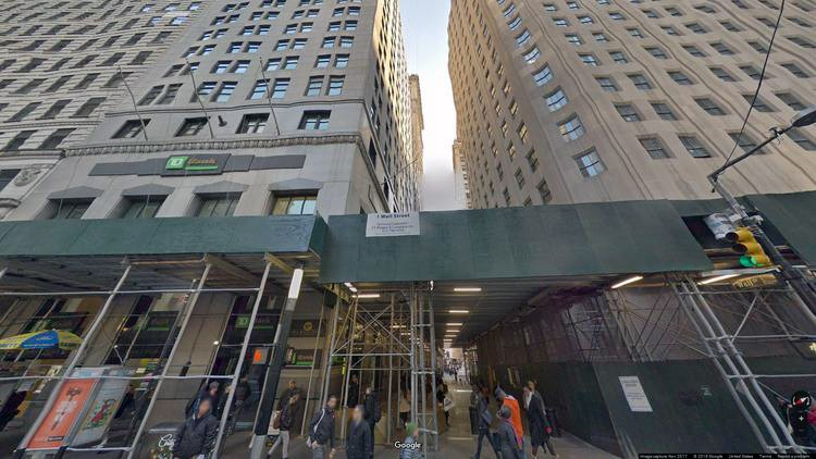 rent office 1 wall street