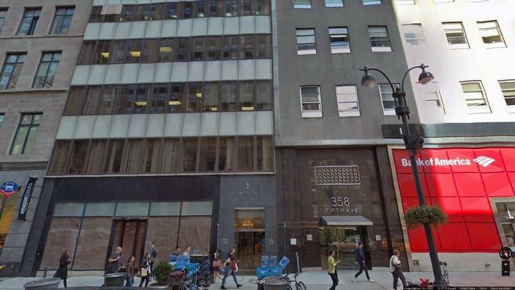 rent office 1 west 34th street