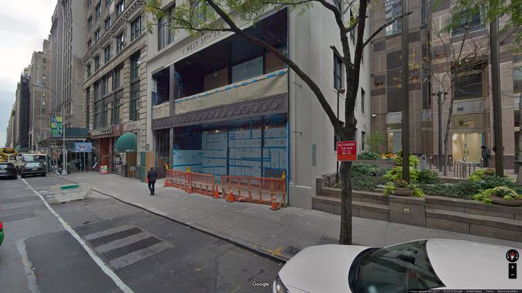 lease office 1 west 37th street