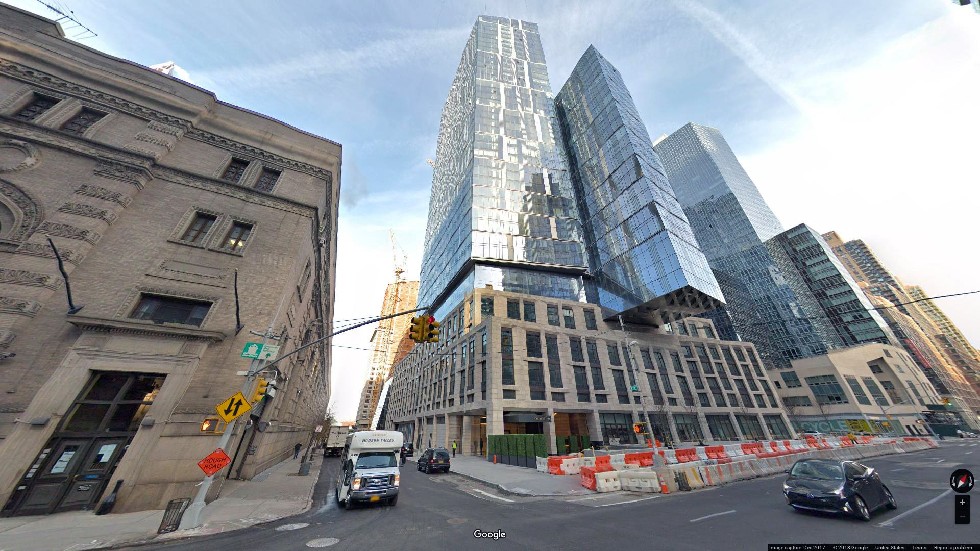Rent Lease Office 1 West End Avenue