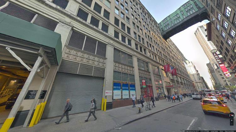 rent office 100-126 west 33rd street