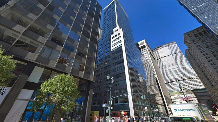 rent office 100 park avenue