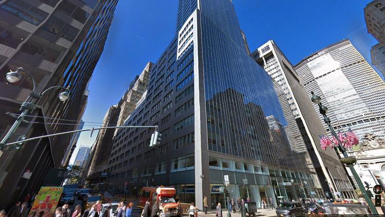 let office 100 park avenue