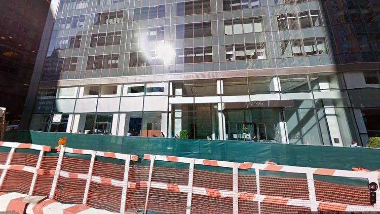 lease office 100 park avenue