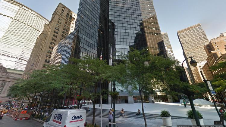 lease office 101 park avenue