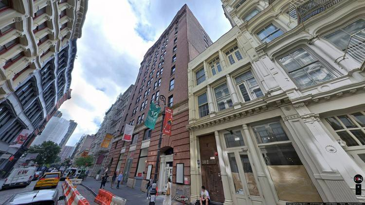rent office 104-110 greene street
