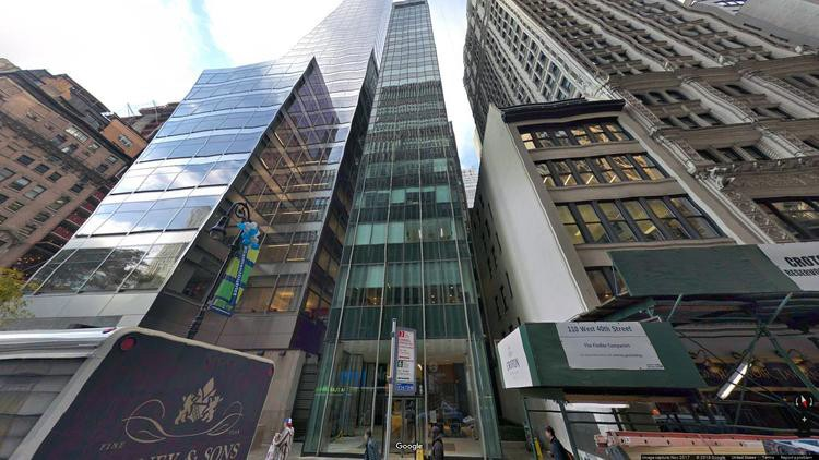 let office 104 west 40th street