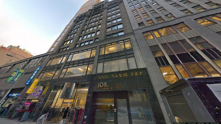lease office 108 west 39th street