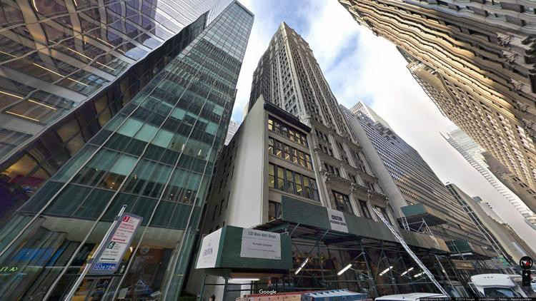 lease office 110 west 40th street
