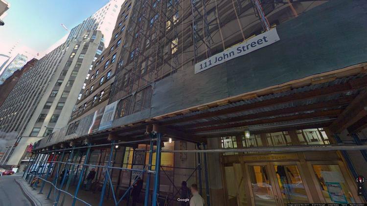 lease office 111 john street