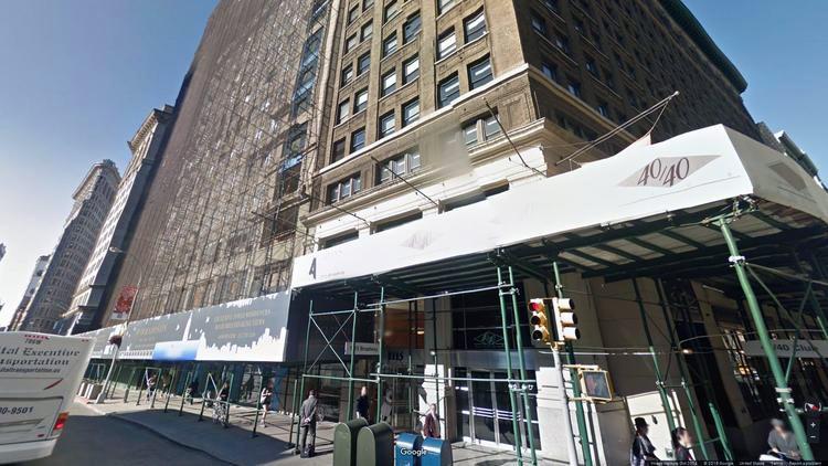 lease office 1115 broadway