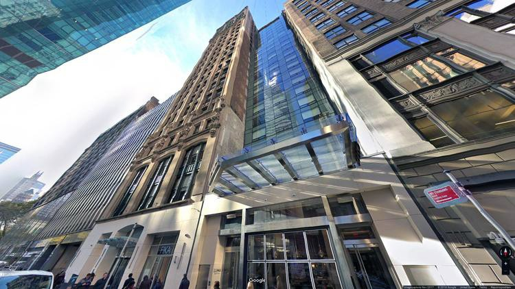 lease office 114 west 41st street