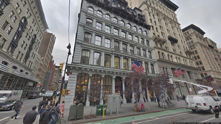 lease office 115 fifth avenue