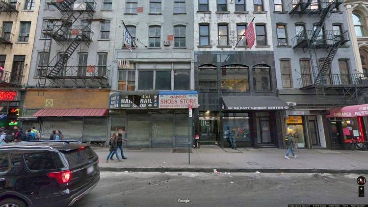 rent office 116 chambers street