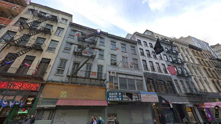 lease office 116 chambers street