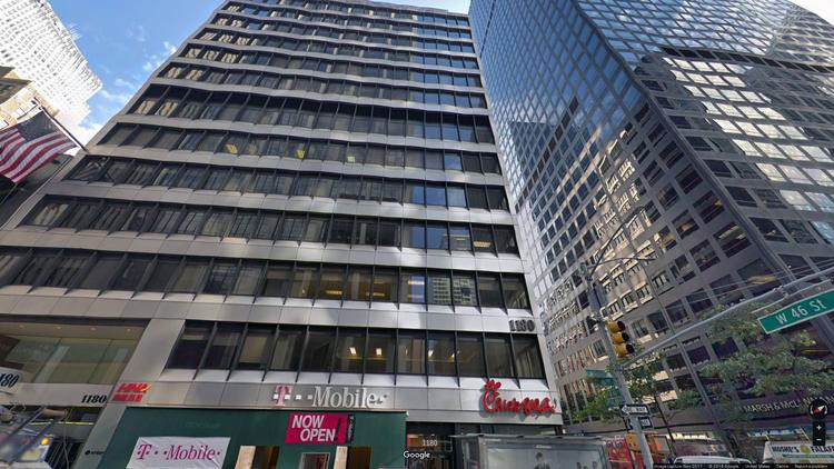lease office 1180 avenue of the americas