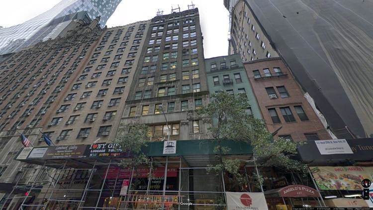 rent office 119-121 west 57th street