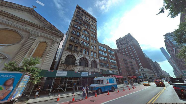 lease office 119 west 23rd street