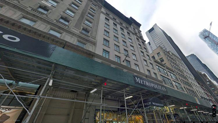 lease office 12 west 57th street