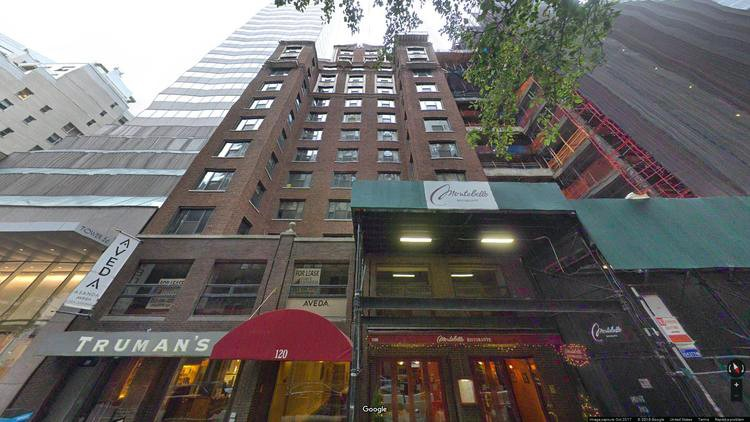 lease office 120 east 56th street