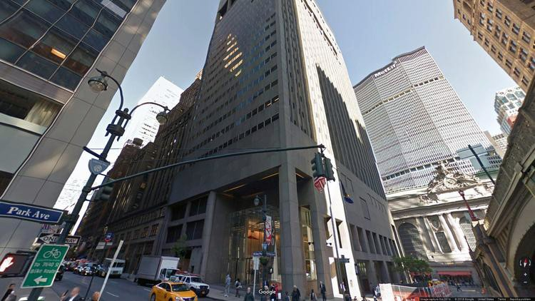 lease office 120 park avenue
