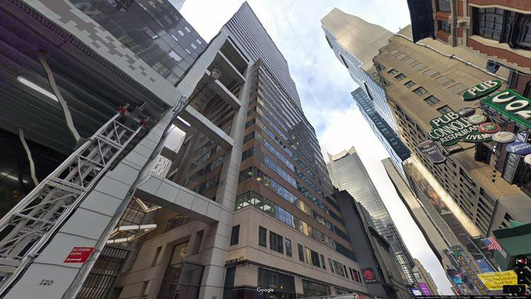 let office 120 west 45th street