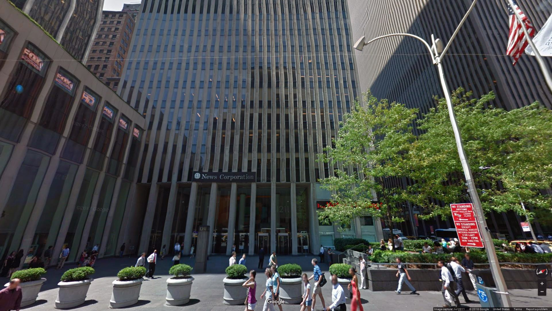 Rent, lease office 1211 Avenue of the Americas