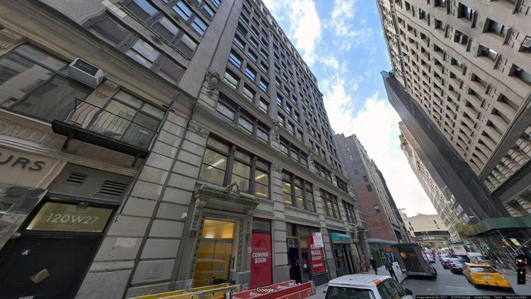 rent office 122-130 west 27th street