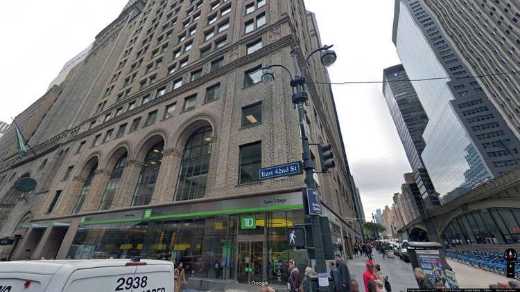 lease office 125 park avenue