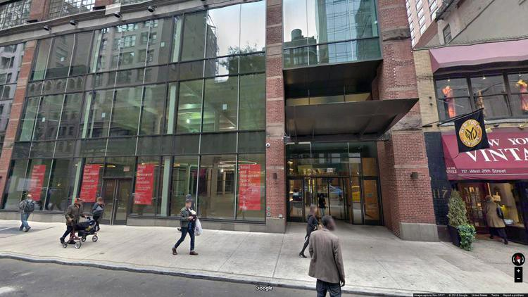 rent office 125 west 25th street