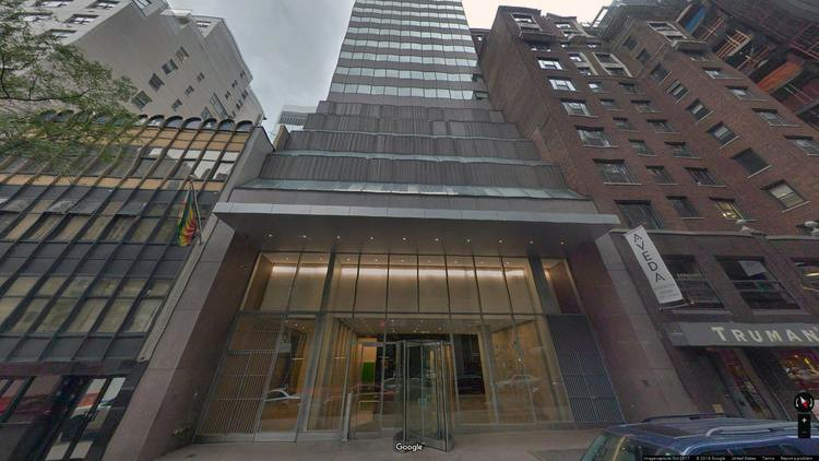 rent office 126 east 56th street
