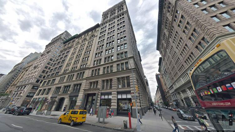 lease office 126 fifth avenue