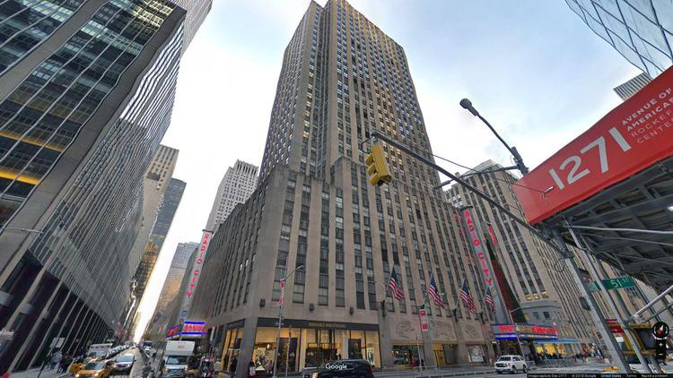 lease office 1270 avenue of the americas