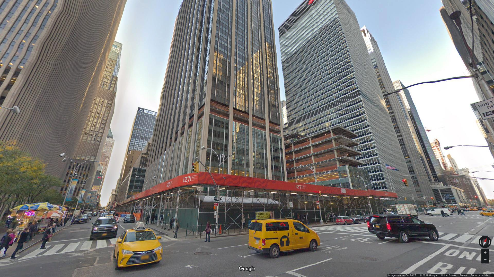 lease office 1271 avenue of the americas