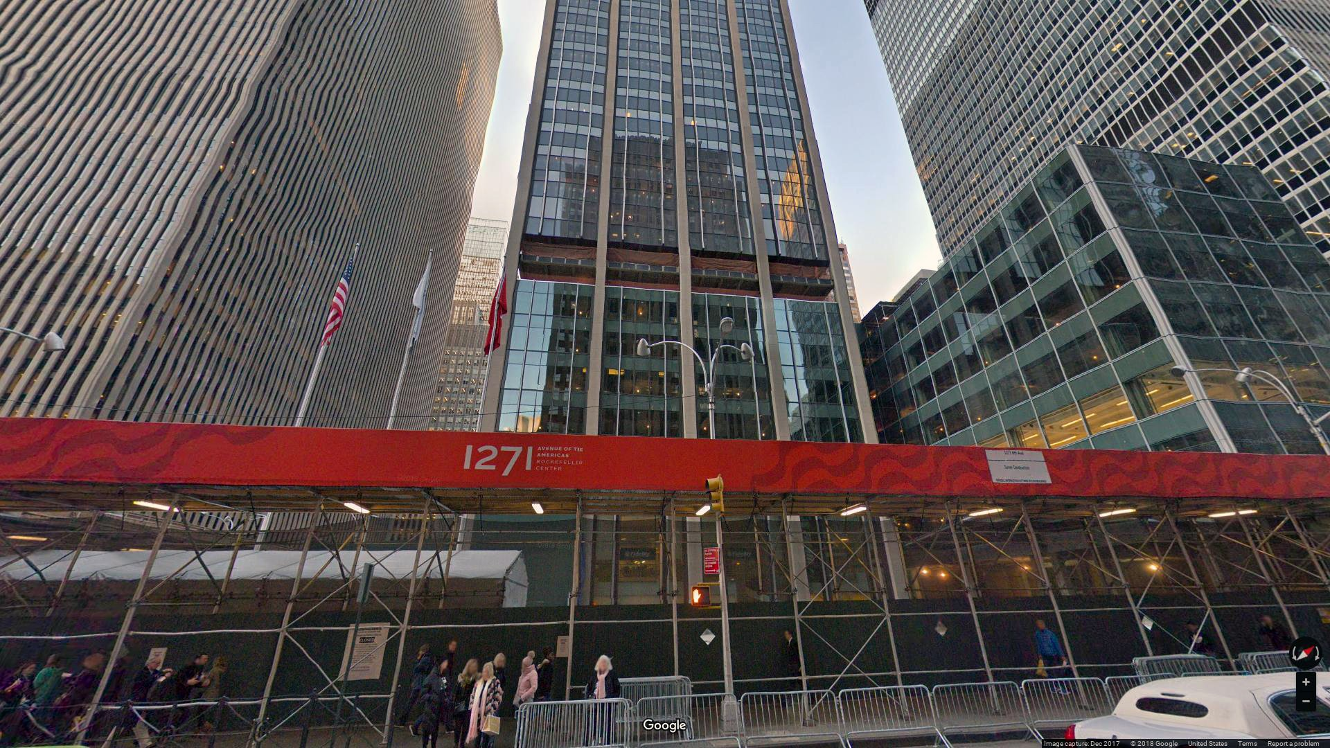 rent office 1271 avenue of the americas