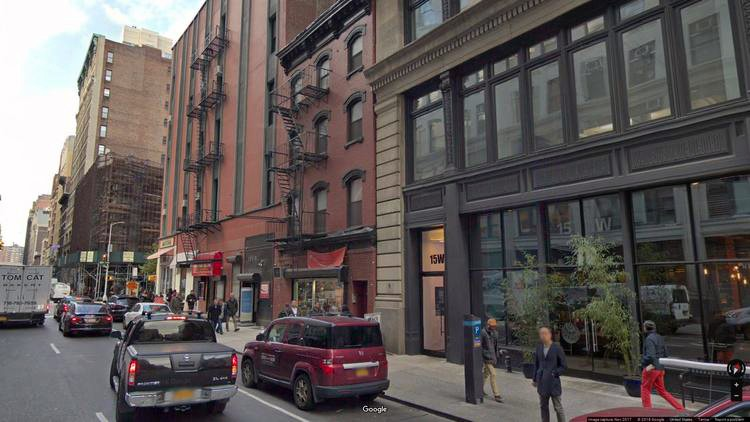 lease office 13-15 west 27th street