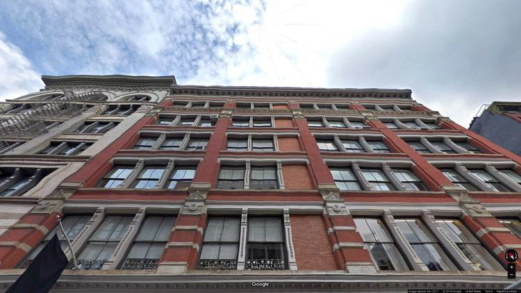 lease office 131-133 spring street