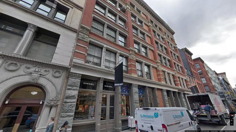 rent office 131-133 spring street