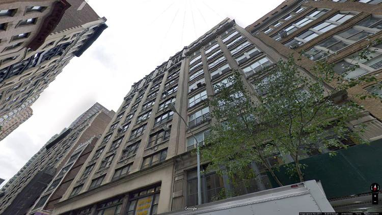 lease office 134 west 26th street