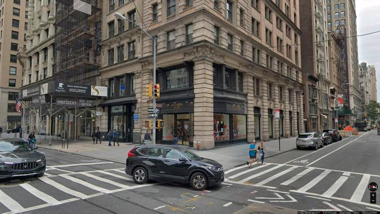 lease office 135 fifth avenue
