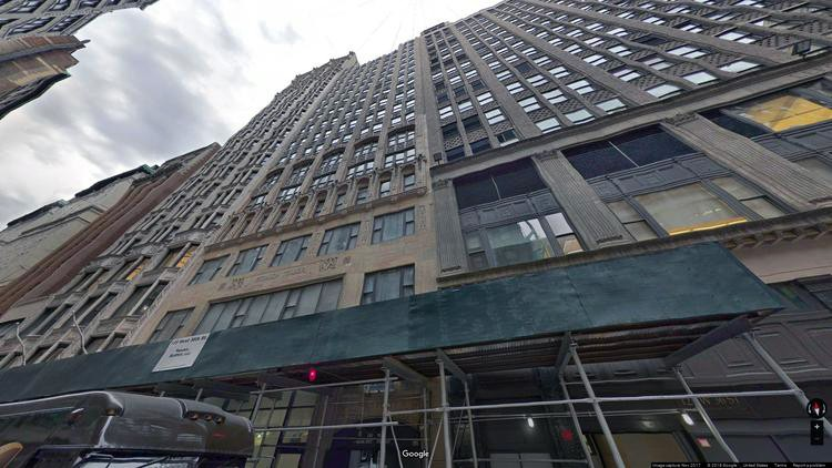 let office 135 west 36th street