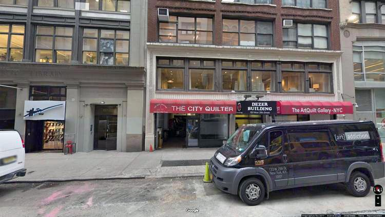 rent office 137-139 west 25th street