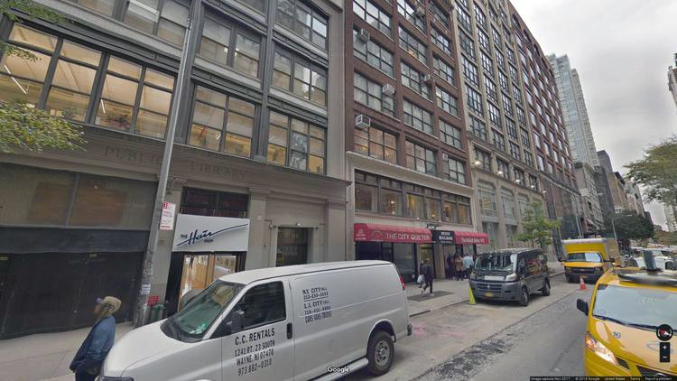 lease office 137-139 west 25th street