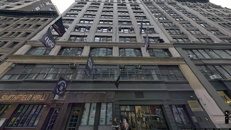 rent office 138 west 25th street