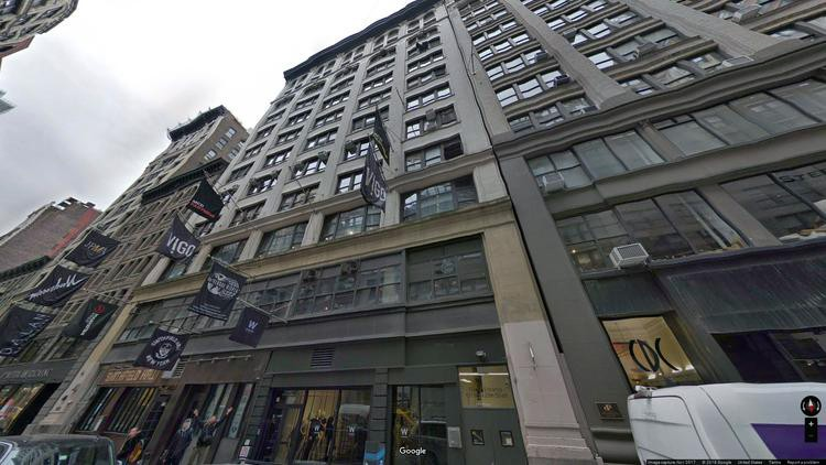 lease office 138 west 25th street