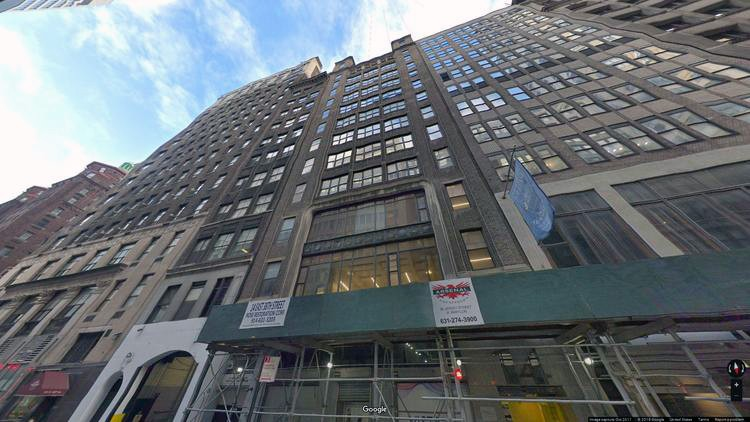 lease office 14 east 38th street