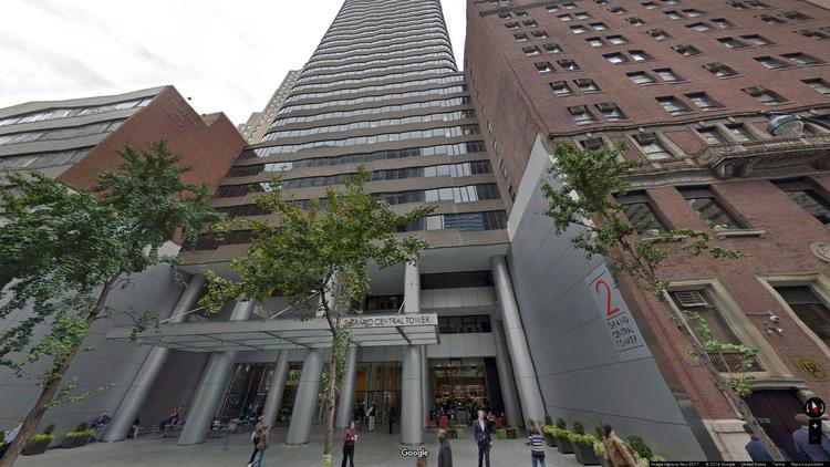 lease office 140 east 45th street